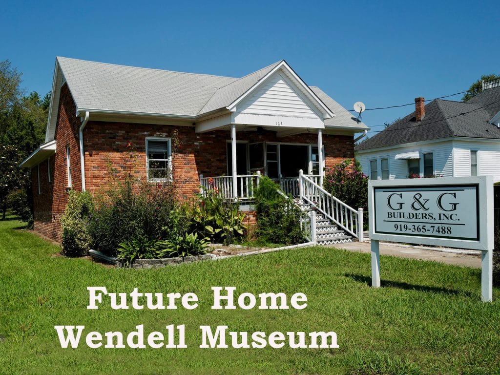 Alex Wall House - future site of Wendell Museum